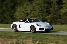 Test - Porsche Boxster Spyder