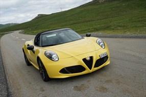 Test – Alfa Romeo 4C Spider